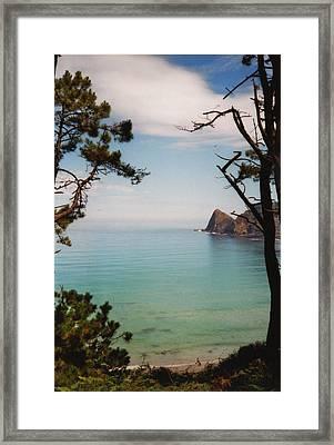Oleiros Beach Framed Print by Juan  Bosco