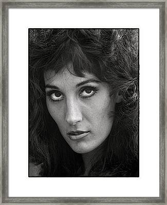 Olga Framed Print by Hal Norman K