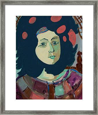 Olga  Framed Print by Oscar Penalber