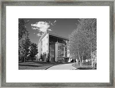 Olin College Academic Center Framed Print by University Icons