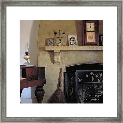 Olivas Adobe Hearth Framed Print