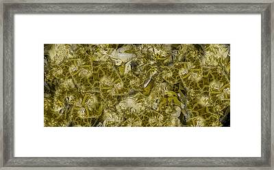 Olive Oil Framed Print by Ron Bissett