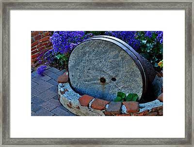 Olive Press Framed Print by See My  Photos