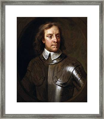 Oliver Cromwell Framed Print by War Is Hell Store