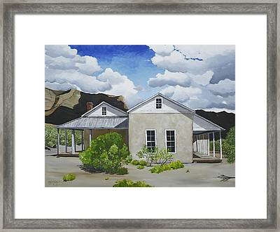 Oliver Lee Framed Print by Amy McKay