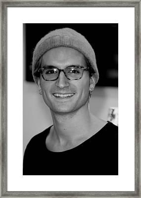 7dae628de7 Oliver Proudlock 2 Framed Print by Jez C Self