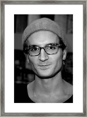 c44741d2f4 Oliver Proudlock 4 Framed Print by Jez C Self