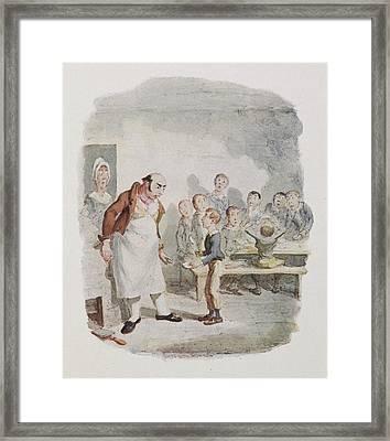 Oliver Twist Framed Print