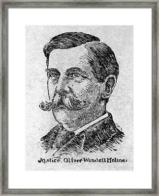 Oliver Wendell Holmes, Jr Framed Print by Granger