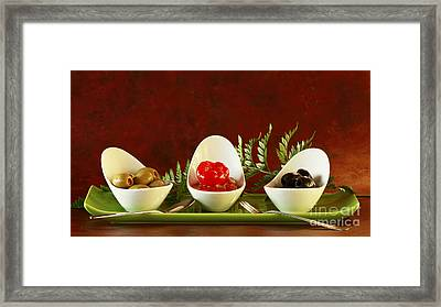 Olives Anyone Framed Print by Inspired Nature Photography Fine Art Photography