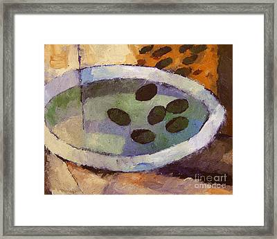 Olives Framed Print