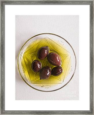 Olives Framed Print by Steve Outram