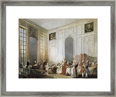 Ollivier, Michel Barth�lemy 1712-1784 Framed Print by Everett