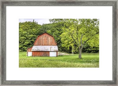 Olsen Farm At Port Oneida Framed Print by Twenty Two North Photography