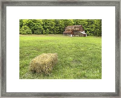 Olsen Farm At Sleeping Bear Dunes Framed Print by Twenty Two North Photography