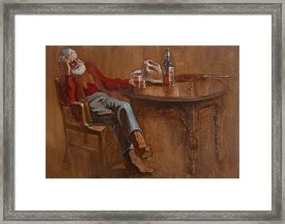 Ol'timer Framed Print by Jack Adams