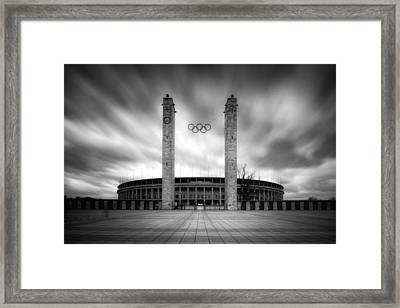 Framed Print featuring the photograph Olympia by Marc Huebner