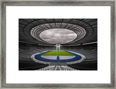 Olympia Stadion Berlin Framed Print by Stavros Argyropoulos