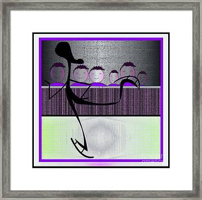 Olympian Framed Print