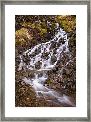 Olympic Cascade 2 Framed Print by Joe Doherty