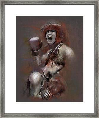 Olympic Champ Framed Print