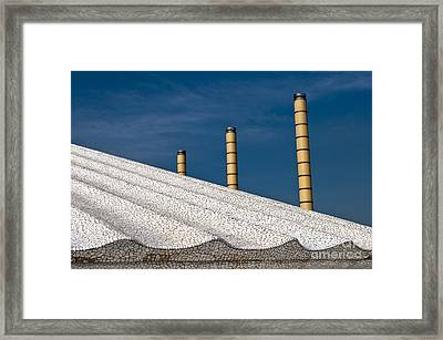 Olympic Columns Framed Print