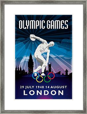 Olympic Games London 1948 New Style Framed Print