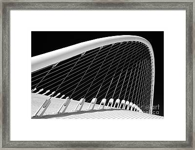 Olympic Velodrome - Athens Framed Print by Rod McLean