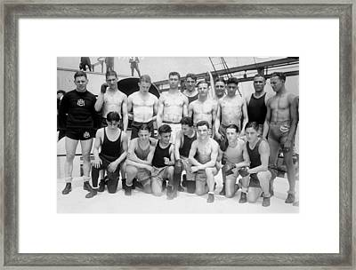 Olympics Boxing, 1924 Framed Print