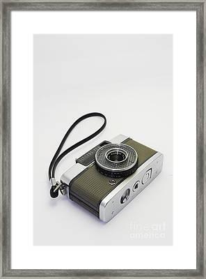 Olympus Pen-film Camera Framed Print by Tuimages