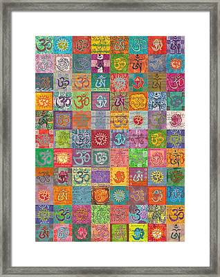 Om 88 Framed Print by Jennifer Mazzucco
