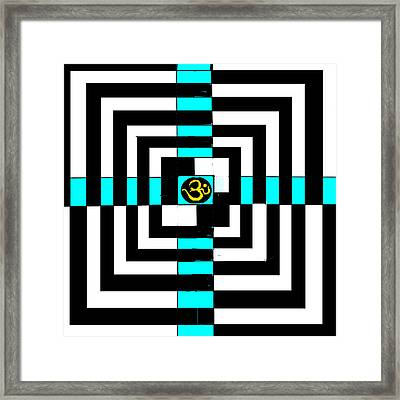 OM Framed Print by Anand Swaroop Manchiraju