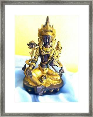 Om Tare Tuttare Tara Framed Print by Dagmar Batyahav