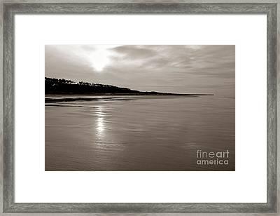 Omaha Beach Framed Print by Olivier Le Queinec