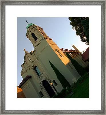 Framed Print featuring the photograph Omaha Church by Jeff Lowe