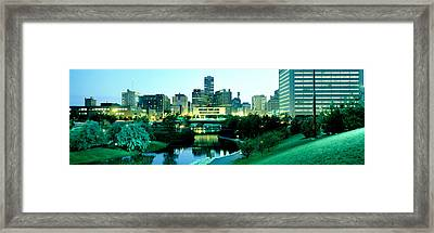 Omaha Ne Framed Print by Panoramic Images