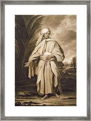 Omai, Engraved By John Jacobe, 1777 Mezzotint Framed Print