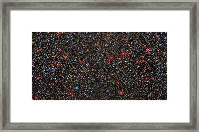 Omega Centauri Stars Framed Print