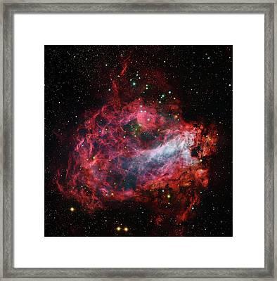 Omega Nebula Framed Print by Robert Gendler