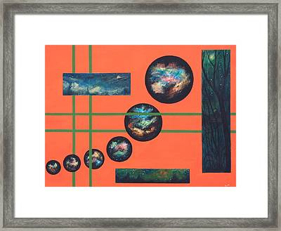 Omega Point Framed Print