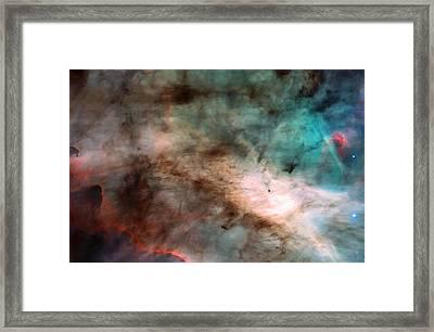 Omega Swan Nebula 1 Framed Print by Jennifer Rondinelli Reilly - Fine Art Photography