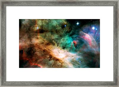 Omega Swan Nebula 2 Framed Print by Jennifer Rondinelli Reilly - Fine Art Photography