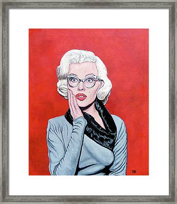 OMG Framed Print by Tom Roderick