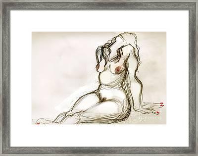 Omi Framed Print by Carolyn Weltman