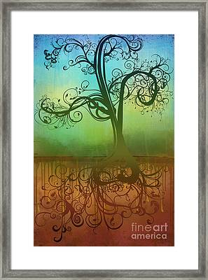 Omid Framed Print by Ryan Burton