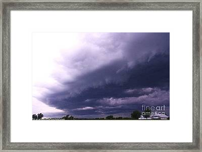 Ominous Clouds Framed Print by PainterArtist FIN