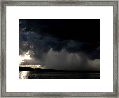 Ominous  Framed Print by Donnie Freeman