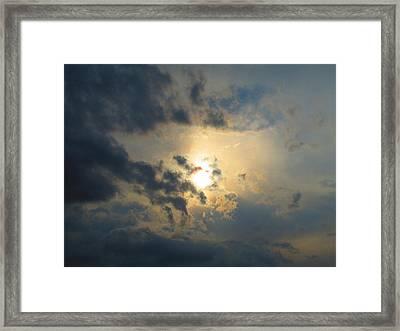 Ominous Skies Framed Print by Jaime Neo
