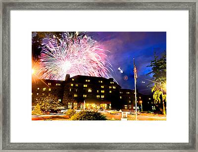 Omni Grove Park Inn Centennial Compilation 2013 Framed Print by Ryan Phillips