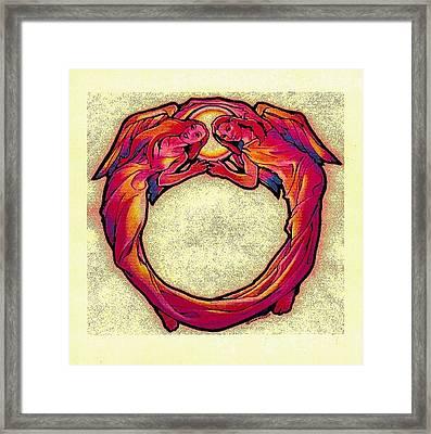 Omni Omni Omni Framed Print by Dale Michels